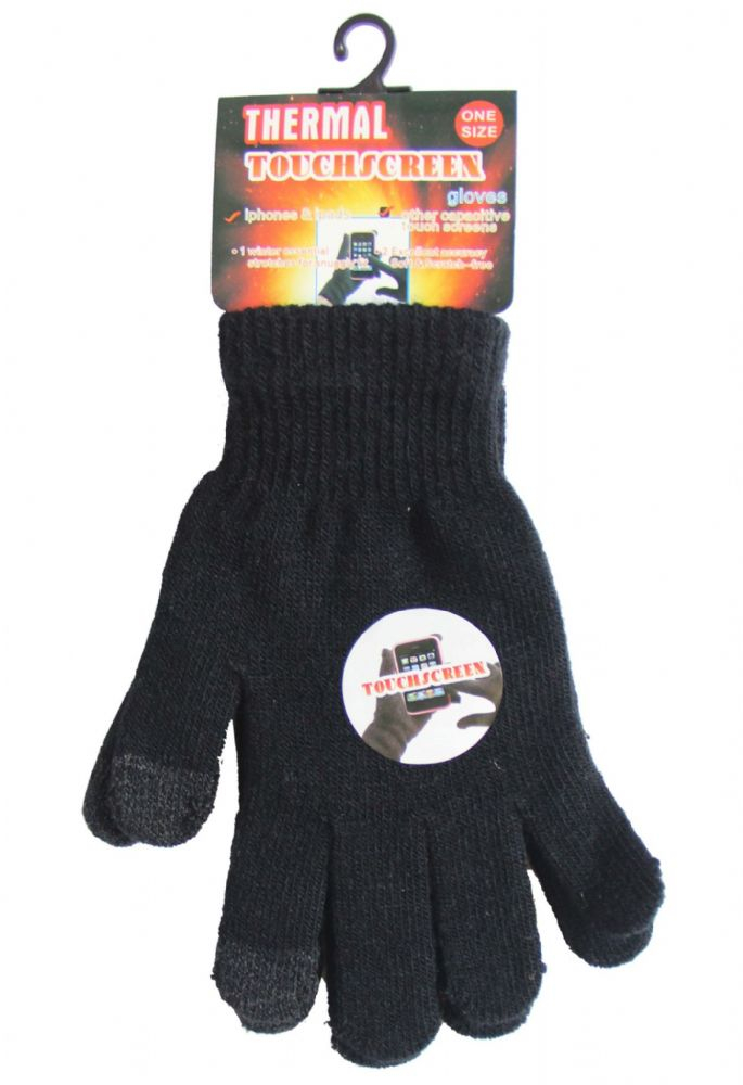 Touch screen iphone ipad magic one size fits all gloves